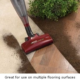 Hoover Flair Bagless Upright Stick Vacuum with Power Nozzle, S2220