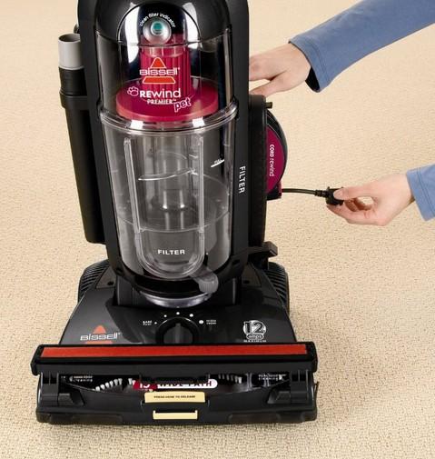 Bissell Rewind Premier Pet Upright Vacuum 67F8